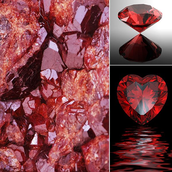 Garnet Jewelry by Offerings Jewelry
