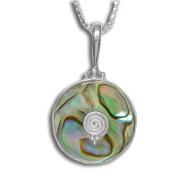 Paua Shell Sterling Pendant