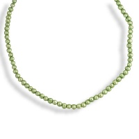 "Green 18"" Pearl Necklace"