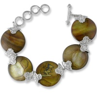 Copper Mother of Pearl Bracelet