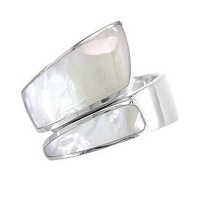 Mother of Pearl Wrap-Around Ring
