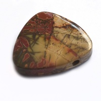 Red Creek Jasper Trillion Pendant