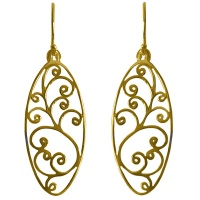 Elemental Vermeil Earrings