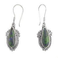 Azurite Dangle Earrings