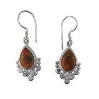 Brecciated Jasper Dangle Earrings