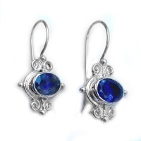 Iolte Sterling Silver Latch-Back Earrings