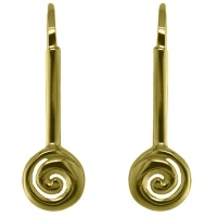 "22k Vermeil ""Koru"" Earrings"