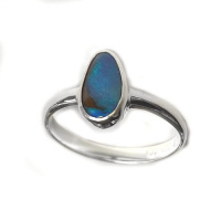 Free Form Opal Ring
