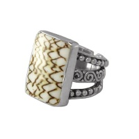 Textile Cone Shell Ring
