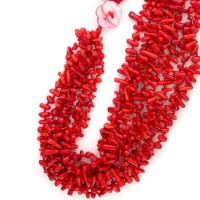 Red Sea Bamboo Beaded Necklace