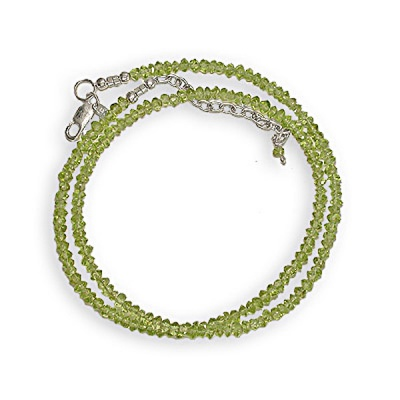 Peridot Beaded Necklace