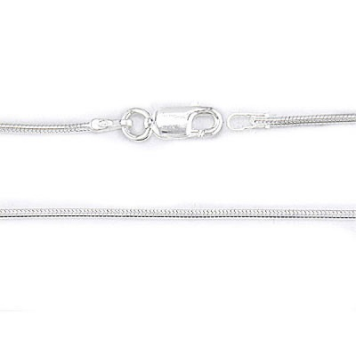 Thin Sterling Silver Snake Chain